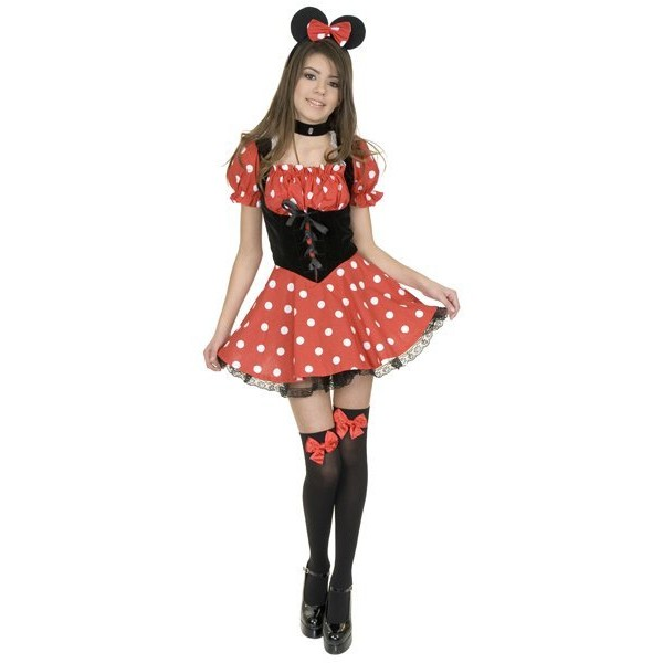Fantasia Adolescente Miss Minnie Mouse