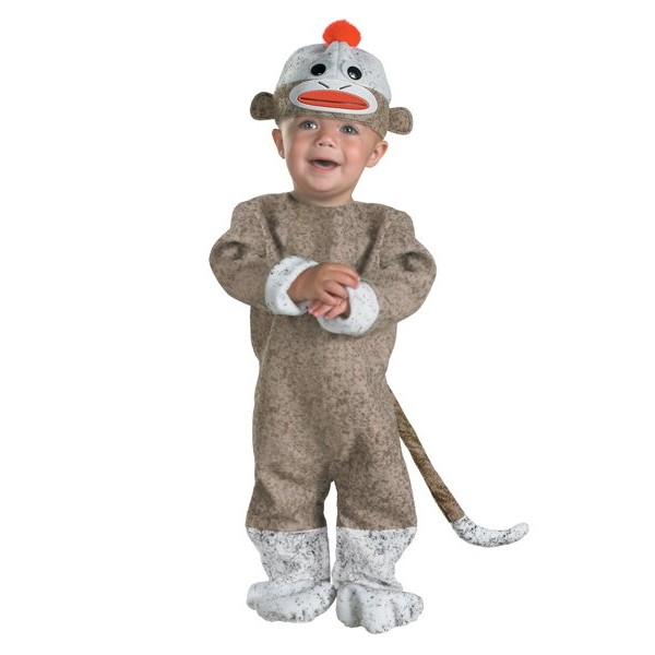 Fantasia de Bebe Sock Monkey