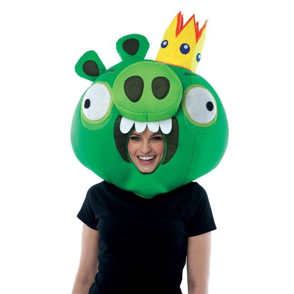 Capacete Adulto Angry Birds King Pig