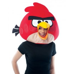 Capacete Adulto Angry Birds Red Bird