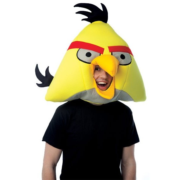 Capacete Adulto Angry Birds Yellow Bird