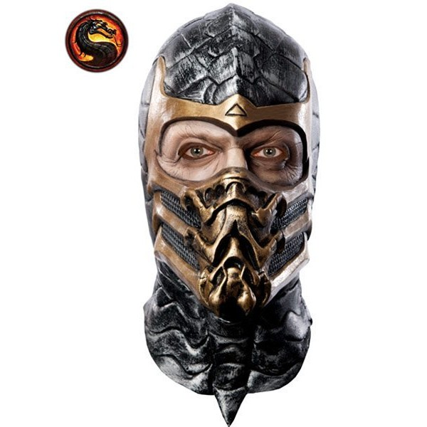 Capacete Adulto Mortal Combate Scorpion