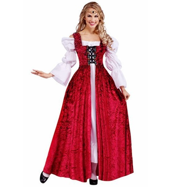 Fantasia Adulto Medieval Plus Size