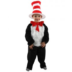 Fantasia Infantil Dr Seuss Cat in The Hat Deluxe