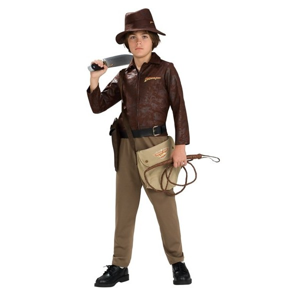 Fantasia Infantil Indiana Jones de Luxo