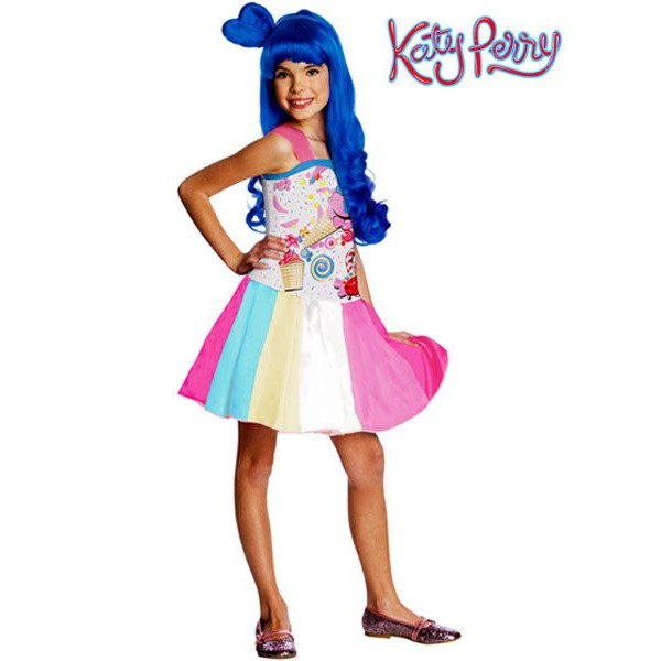 Fantasia Infantil Katy Perry Candy Girl