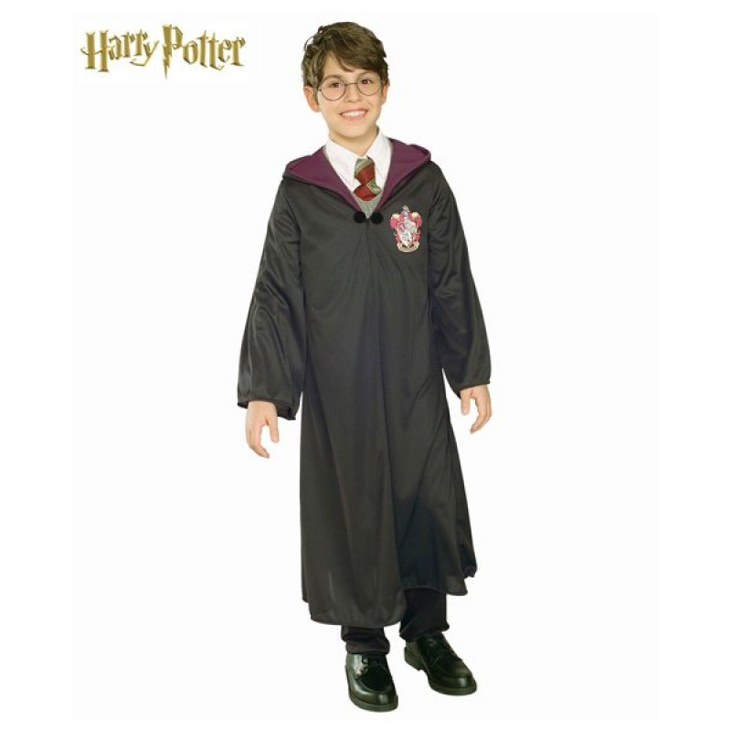 Fantasia Infantil Manto Harry Potter