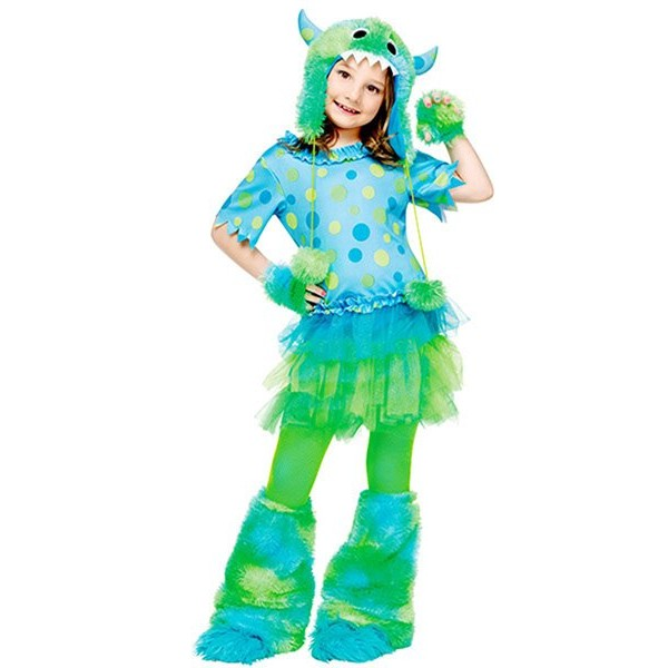 Fantasia Infantil Monster Miss