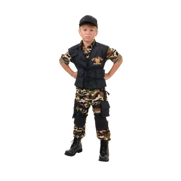 Fantasia Infantil Navy SEAL