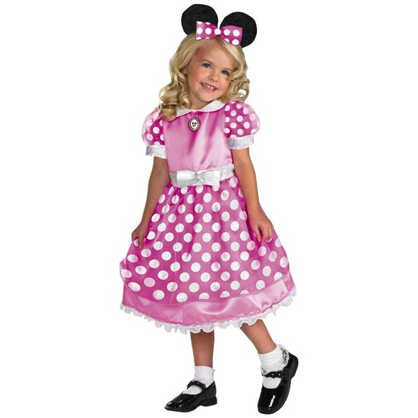 Fantasia Infantil Pink Minnie Mouse