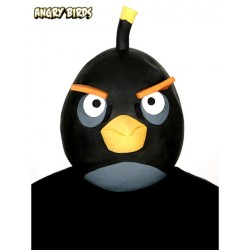 Mascara Angry Bird Black Bird