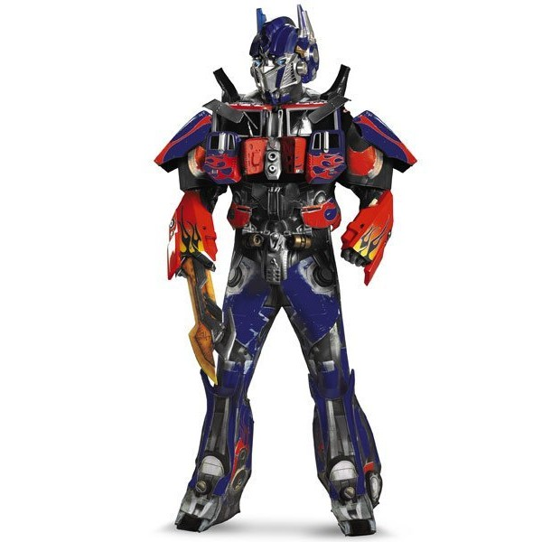 Fantasia Adulto Optimus Prime Transformers 3 Luxo